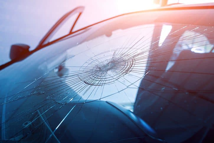 windshield cracks are similar to hairline cracks in a tooth